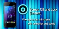 Screen Off and Lock (Donate) v1.17