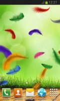 Feather Live Wallpaper HD Full v1.0